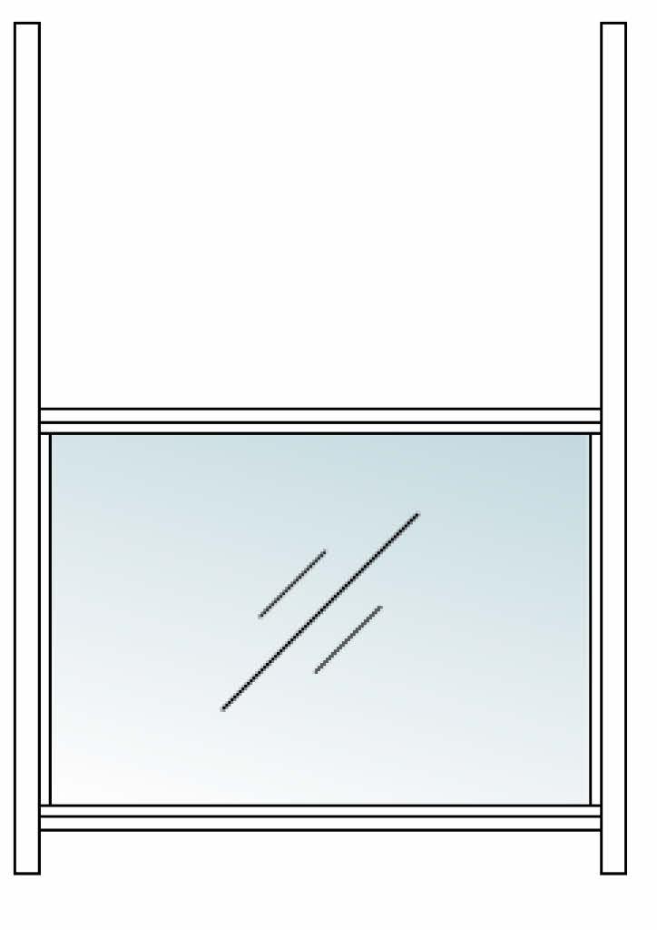 フォルム スクリーンガラス枠